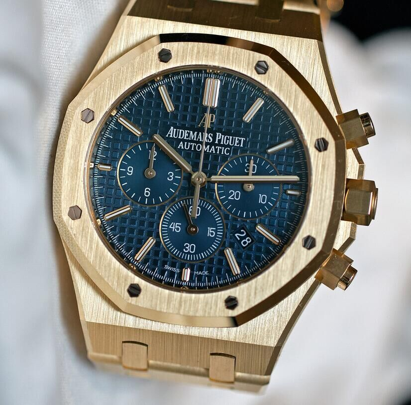 Audemars-Piguet-Royal-Oak-Chronograph-41-mm-yellow-gold-