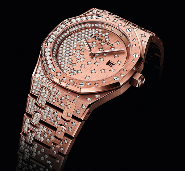 Audemars Piguet Royal-Oak fake watches for ladies are just like shining stars.