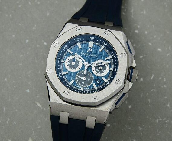 The new Royal Oak Offshore is light with the titanium case.