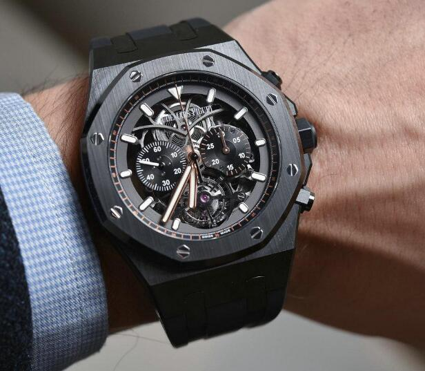 It has presented the high level of craftsmanship of Audemars Piguet.