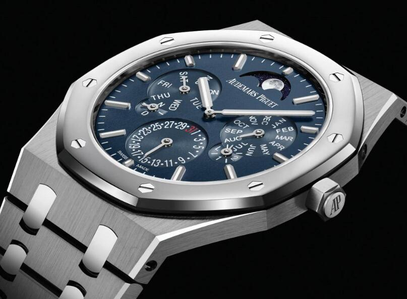 The ultra thin Audemars Piguet presents the high level of watchmaking craftsmanship.