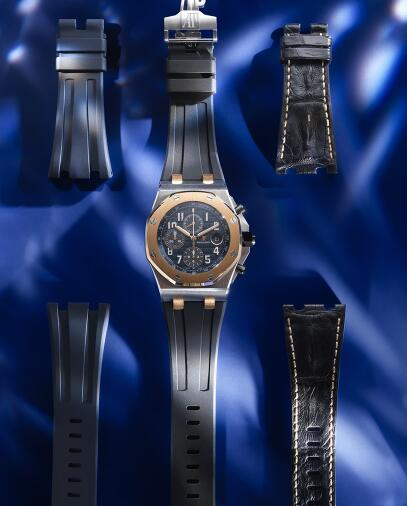 The special watch will make the men wearers more charming.