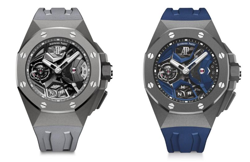 The new Audemars Piguet Royal Oak Concept copy watches are with high quality.